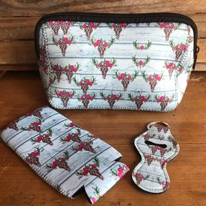 Handbags - Neoprene 3 Piece Set